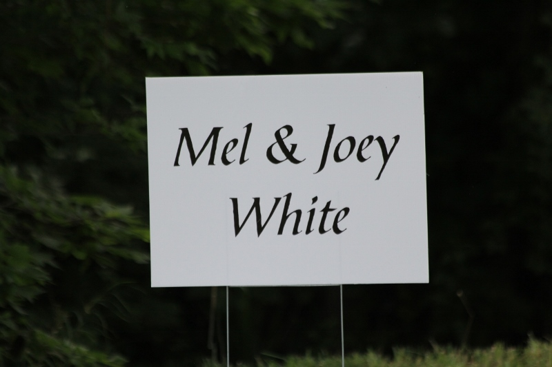 Mel and Joey White