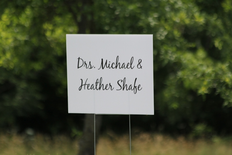 Dr. Michael and Dr. Heather Shafe